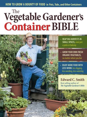 cover image of The Vegetable Gardener's Container Bible