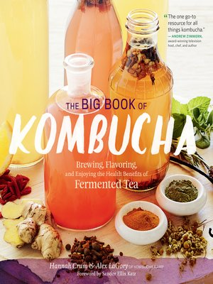cover image of The Big Book of Kombucha