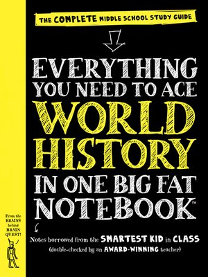 cover image of Everything You Need to Ace World History in One Big Fat Notebook