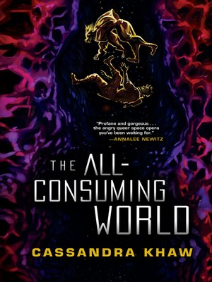 cover image of The All-Consuming World