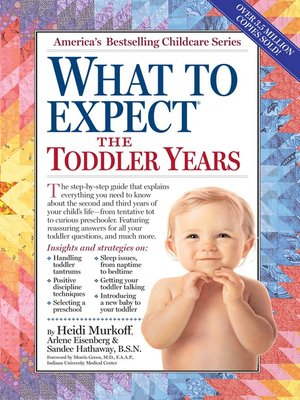 cover image of What to Expect the Toddler Years