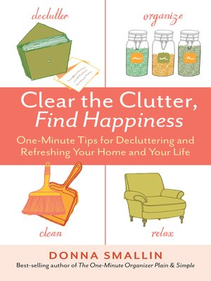 cover image of Clear the Clutter, Find Happiness