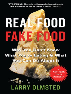 cover image of Real Food/Fake Food