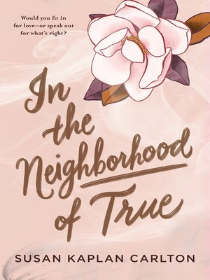 cover image of In the Neighborhood of True