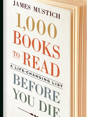 cover image of 1,000 Books to Read Before You Die