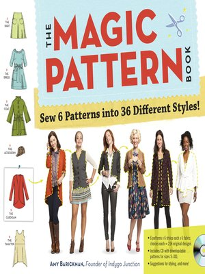 cover image of The Magic Pattern Book