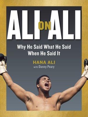 cover image of Ali on Ali