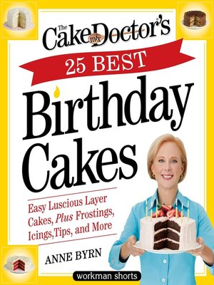 cover image of The Cake Mix Doctor's 25 Best Birthday Cakes