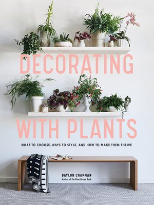 cover image of Decorating with Plants