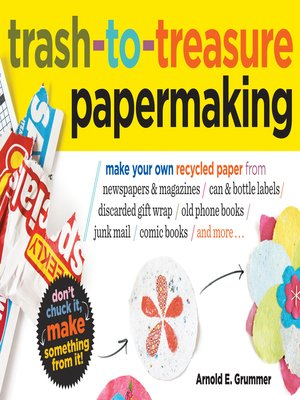 cover image of Trash-to-Treasure Papermaking