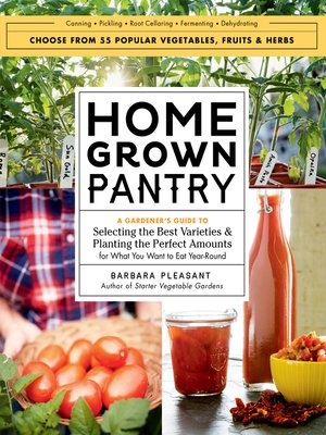 cover image of Homegrown Pantry