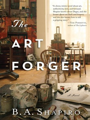 cover image of The Art Forger