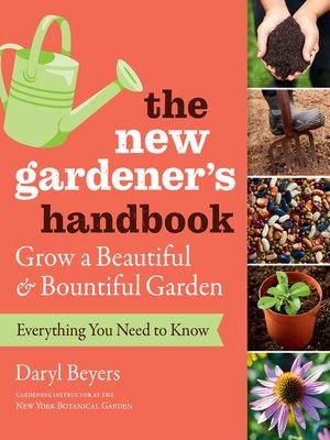 cover image of The New Gardener's Handbook