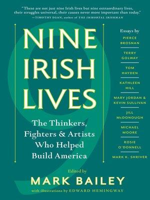 cover image of Nine Irish Lives