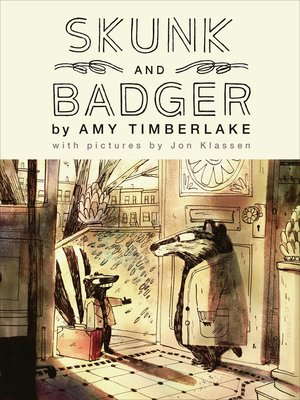 cover image of Skunk and Badger