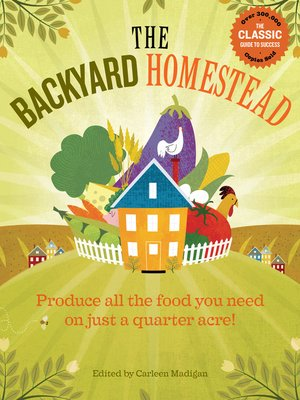cover image of The Backyard Homestead