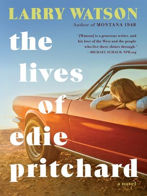 cover image of The Lives of Edie Pritchard