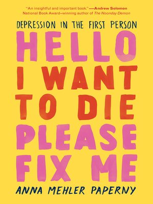 Hello I Want to Die Please Fix Me Book Cover