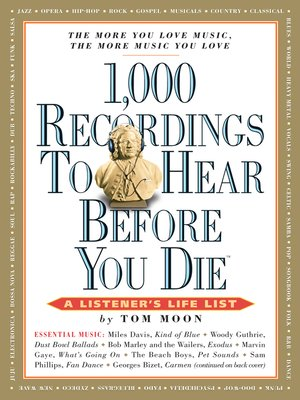 cover image of 1,000 Recordings to Hear Before You Die