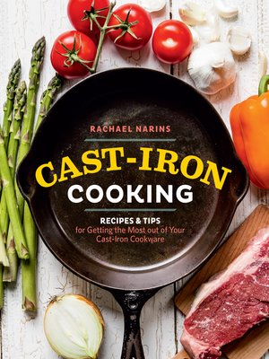cover image of Cast-Iron Cooking