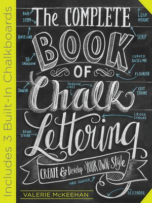 cover image of The Complete Book of Chalk Lettering