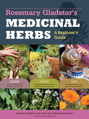 cover image of Rosemary Gladstar's Medicinal Herbs