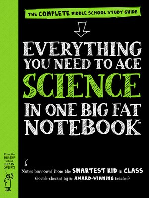 cover image of Everything You Need to Ace Science in One Big Fat Notebook