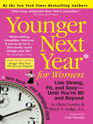 cover image of Younger Next Year for Women