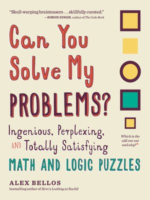 cover image of Can You Solve My Problems?