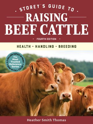 cover image of Storey's Guide to Raising Beef Cattle