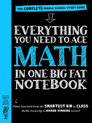 cover image of Everything You Need to Ace Math in One Big Fat Notebook