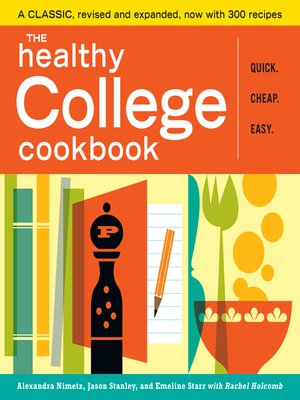 cover image of The Healthy College Cookbook