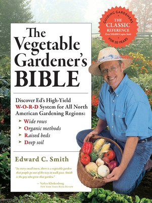 cover image of The Vegetable Gardener's Bible