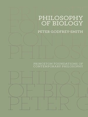 cover image of Philosophy of Biology