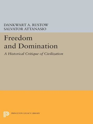 cover image of Freedom and Domination