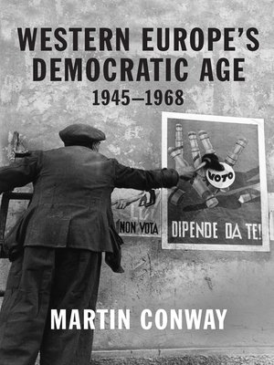 cover image of Western Europe's Democratic Age