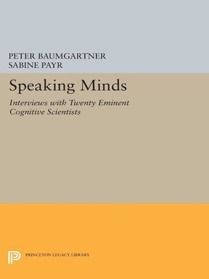 cover image of Speaking Minds