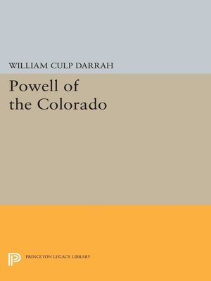 cover image of Powell of the Colorado