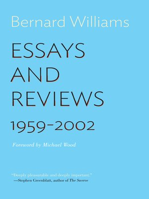 cover image of Essays and Reviews