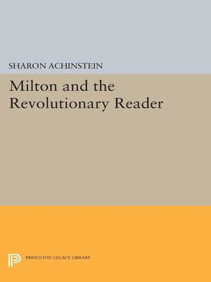 cover image of Milton and the Revolutionary Reader