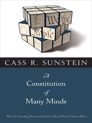 cover image of A Constitution of Many Minds