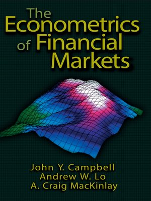 cover image of The Econometrics of Financial Markets