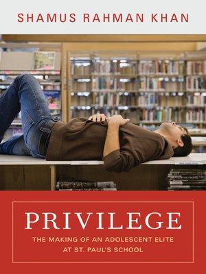 cover image of Privilege
