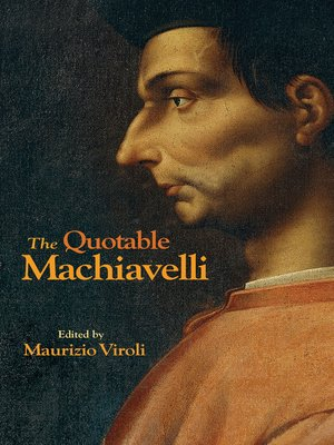 cover image of The Quotable Machiavelli