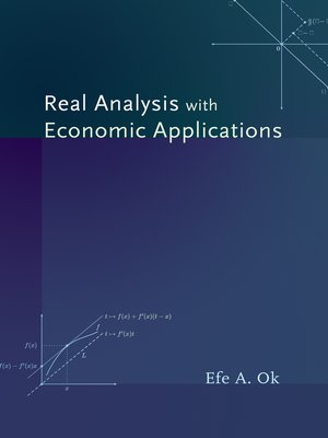 cover image of Real Analysis with Economic Applications