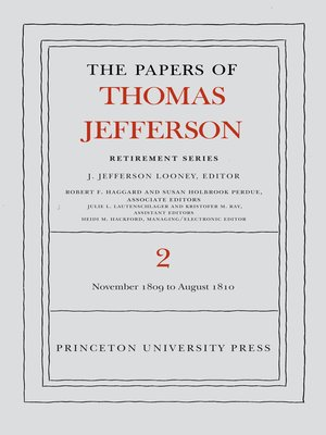 cover image of The Papers of Thomas Jefferson, Retirement Series, Volume 2