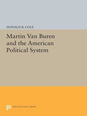 cover image of Martin van Buren and the American Political System