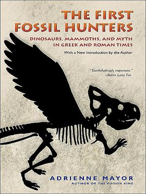 cover image of The First Fossil Hunters