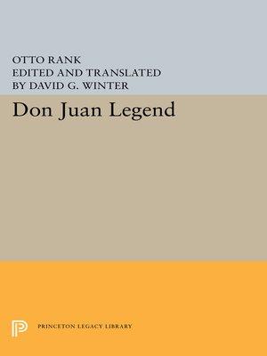 cover image of Don Juan Legend