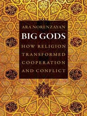 cover image of Big Gods